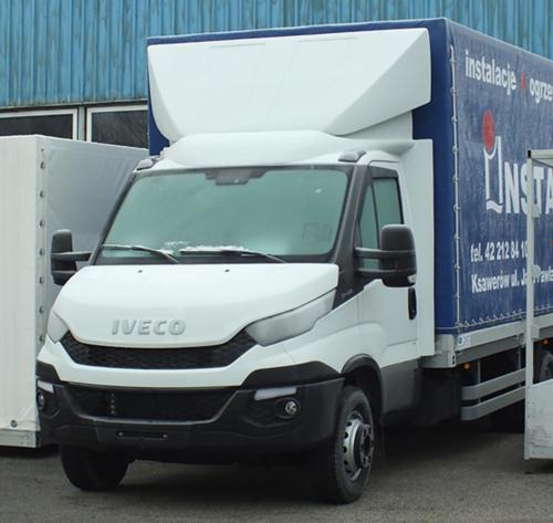 Iveco 2015 roof spoiler